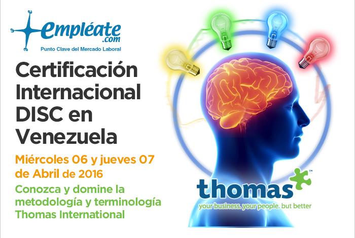 Certificación DISC en Venezuela